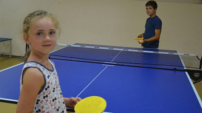 Теннис настольный фото детей